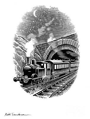 Night Train, Artwork Art Print