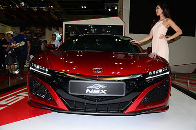 Photograph - Honda Nsx by Chua  ChinLeng