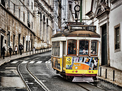 Photograph - No 28 Tram In Lisbon by Colin and Linda McKie