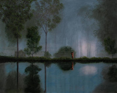 Painting - Nocturne by Mark Junge