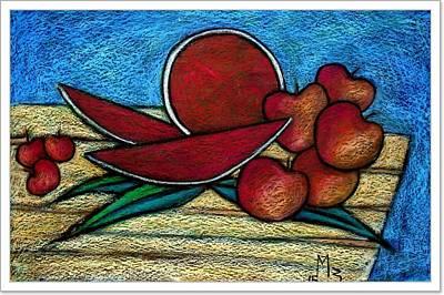 Nontitled Art Print by Mahmoud Zayed
