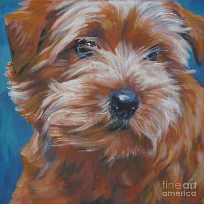 Norfolk Wall Art - Painting - Norfolk Terrier by Lee Ann Shepard