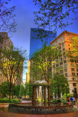 Photograph - Norman B Leventhal Park - Boston by Joann Vitali