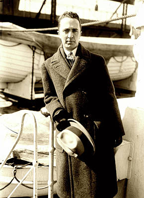 Photograph - Norman Rockwell 1930s by L O C
