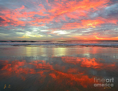 Photograph - North County Reflections 48x60 Inches by John F Tsumas