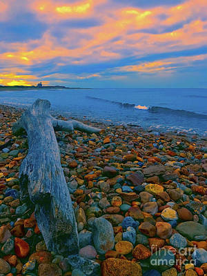 Photograph - North Lighthouse Sunset by Todd Breitling