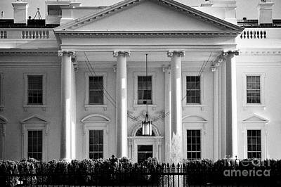 Whitehouse Wall Art - Photograph - northern facade of the white house Washington DC USA by Joe Fox