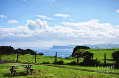 Photograph - Northern Ireland Landscape Overlooking The Atlantic Ocean by Vizual Studio