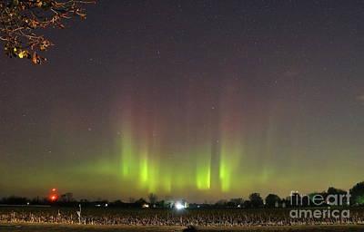 Photograph - Northern Lights by Erick Schmidt