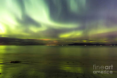 Photograph - Northern Lights Reykjavik by Gunnar Orn Arnason