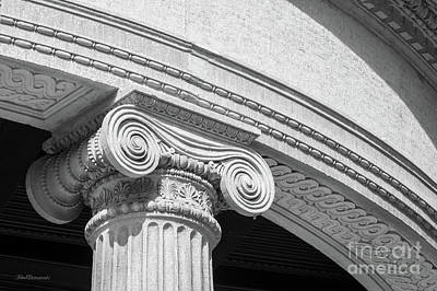 Photograph - Northwestern University Lunt Hall Detail by University Icons