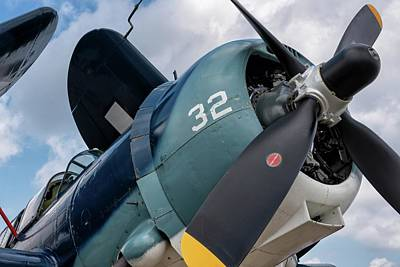 Photograph - Nose Of The Beast - 2018 Christopher Buff, Www.aviationbuff.com by Chris Buff