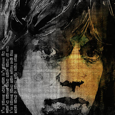Rolling Stones Wall Art - Painting - Not Fade Away  by Paul Lovering