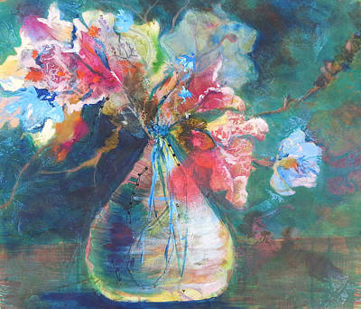 Painting - Not Your Mothers Vase by Becky Chappell