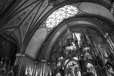 Photograph - Notre Dame Montreal by For Ninety One Days