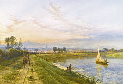 Painting - Nottingham by Henry Dawson