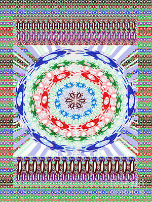 Painting - Novino Sale Fineart Chakra Mandala Round Circle Inspirational Healing Art At Fineartamerica.com By N by Navin Joshi
