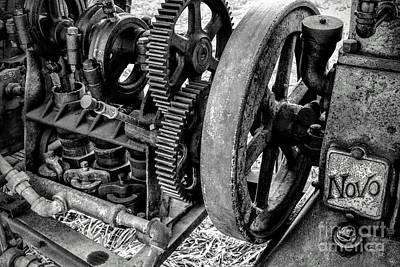 Novo Antique Gas Engine Art Print