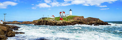 Photograph - Nubble Light 1x3 by Robert Clifford