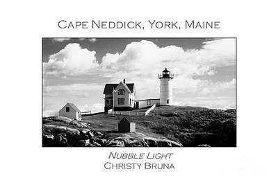 Photograph - Nubble Light by Christy Bruna