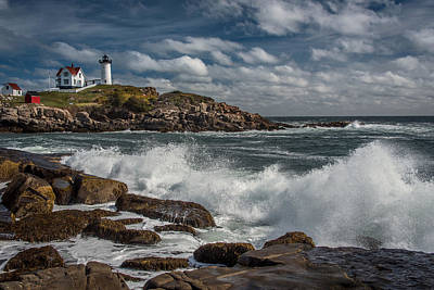 Photograph - Nubble Light by Fred LeBlanc
