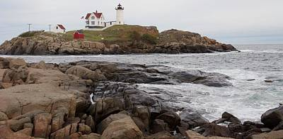 Photograph - Nubble Lighthouse 2016 by Caroline Stella