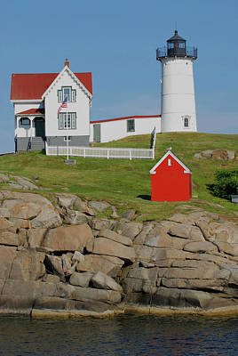 Photograph - Nubble Lighthouse by Pamela Hodgdon