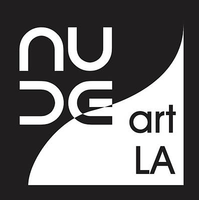 Wall Art - Digital Art - Nude Art La Logo by Nude Art LA