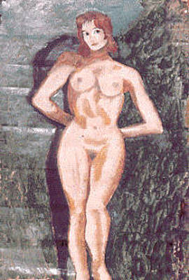 Painting - Nude by Biagio Civale