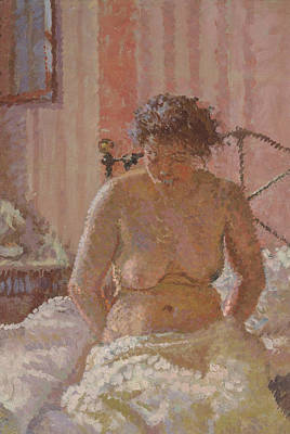 Painting - Nude In An Interior by Treasury Classics Art