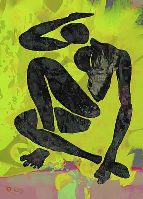 Nude Pop Art Poster Art Print