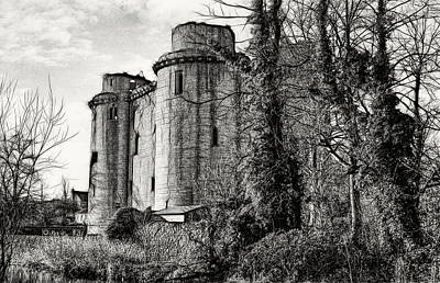 Photograph - Nunney Castle by Ron Harpham