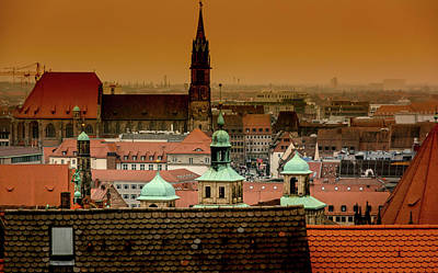 Photograph - Nuremberg  by Andrew Matwijec