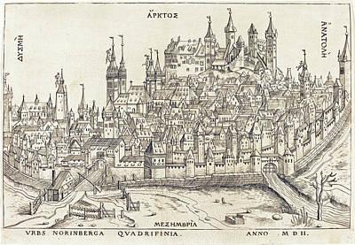 Drawing - Nuremberg by German 16th Century