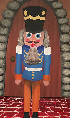 Print featuring the painting Nutcracker Sweet by Thomas Blood
