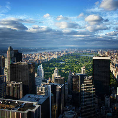 Nyc Skyline Photograph - Nyc Central Park by Nina Papiorek