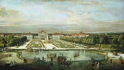 Painting - Nymphenburg Palace, Munich by Bernardo Bellotto