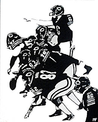 Painting - O-line by Matthew Formeller