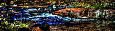 Photograph - Oak Creek Canyon Cascade by Roger Passman