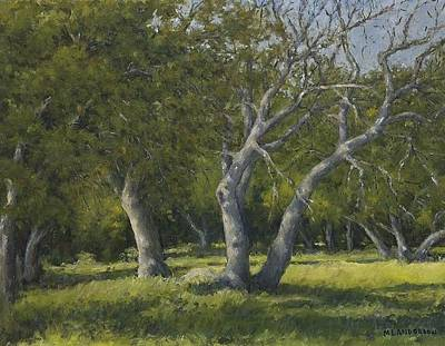 Painting - Oaks by Marv Anderson