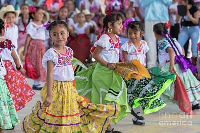Photograph - Oaxacan Heritage Fair by Jim West