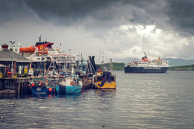Photograph - Oban Harbour by Ray Devlin