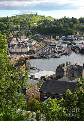 Photograph - Oban Scotland by Gregory Dyer