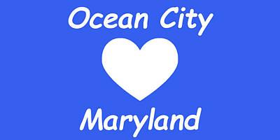 Photograph - Ocean City Maryland by Robert Banach