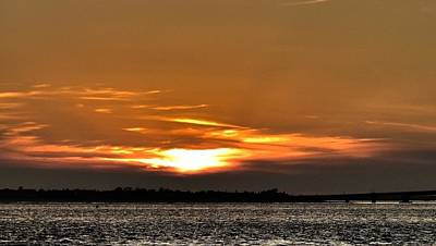 Ocean City New Jersey Sunset Art Print by Kevin  Sherf