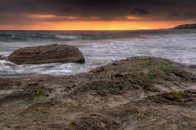 Photograph - Ocean Glow by Eddie Yerkish