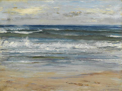 William Mctaggart Painting - Ocean. I Scan The Ocean A Sail To See by William McTaggart
