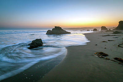 Photograph - Ocean Seascape Sunset by R Scott Duncan