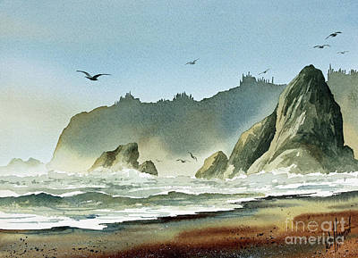Painting - Ocean Shore by James Williamson