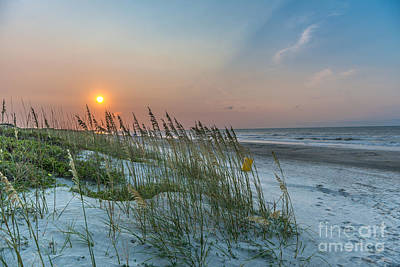 Photograph - Ocean Sunrise by Dale Powell
